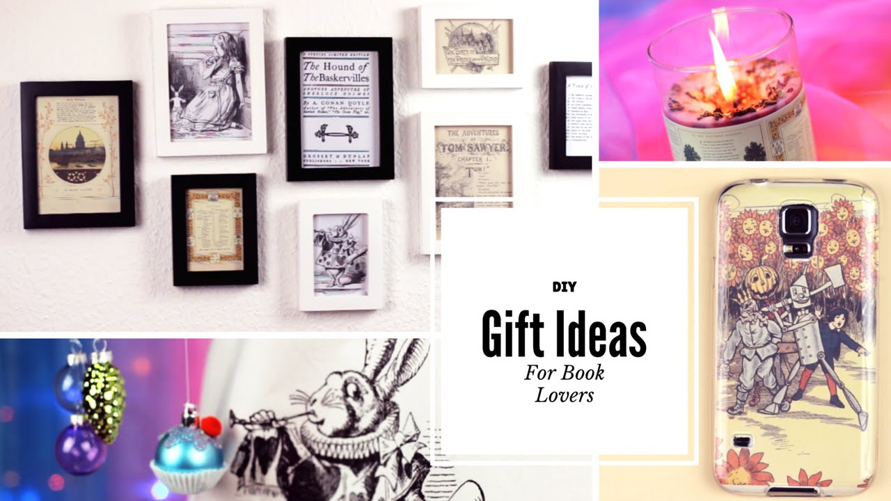 Diy christmas gifts for book lovers