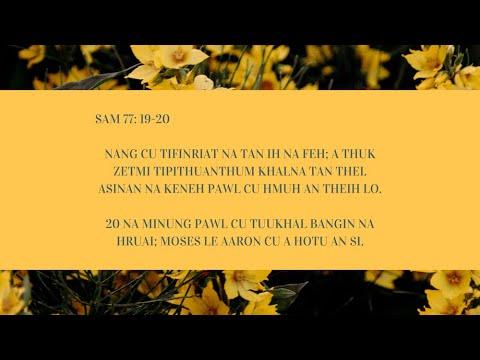 DEVOTION NI (28) NAK  PATHIAN IN A MINUNG HMANGIN MILAI A RUNSUAK