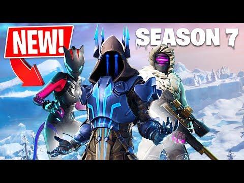 *NEW* Fortnite Season 7 Live Gameplay! (Fortnite Season 7 New Map) - default