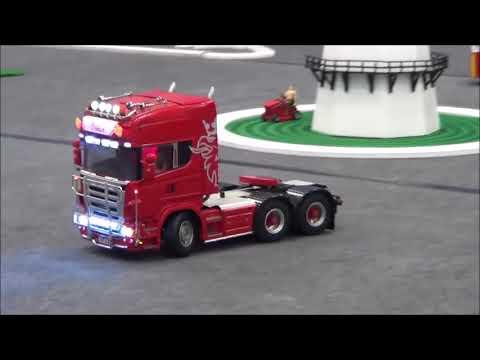 Rc Trucks @ Leyland April 2015 Tamiya 1/14 scale Wedico Carson scaleART LKW RC - UCSQktfG34sZw-HCzBfXpOUQ