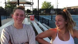 Varsity Tennis: Phoebe Shapard and Ryan Thompson