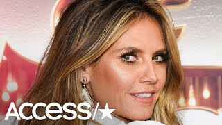 Heidi Klum Twirls and Skips Wearing Gorgeous Valentino Wedding Gown At Dress Fitting