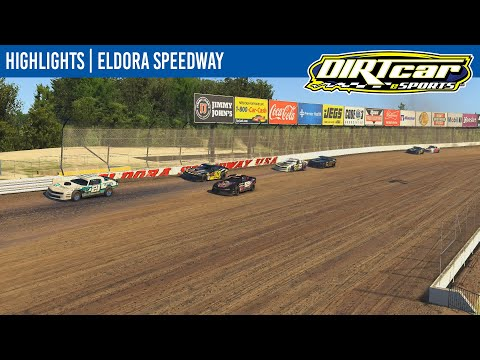 DIRTcar eSports Street Stocks Eldora Speedway May 12, 2021 | HIGHLIGHTS - dirt track racing video image