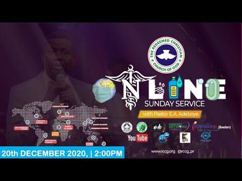 RCCG DECEMBER 20TH 2020  PASTOR E.A ADEBOYE SPECIAL SERVICE