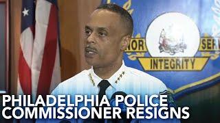 Philadelphia Police Commissioner Richard Ross resigns, mayor's office says
