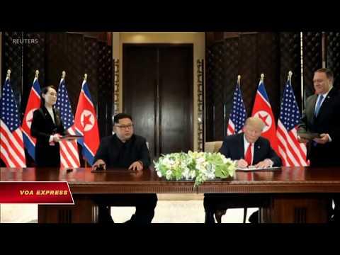 Đặc sứ Mỹ đến Triều Tiêu họp bàn chuẩn bị hội nghị thượng đỉnh (VOA)