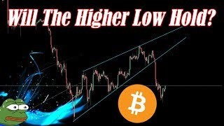 🔴 Bitcoin Live : Will The Higher Low Hold? Alts Ready? Episode 640 - Crypto Technical Analysis