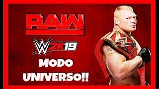 WWE RAW - MODO UNIVERSO #42 -WWE 2K19 -  PS4 -Argentina