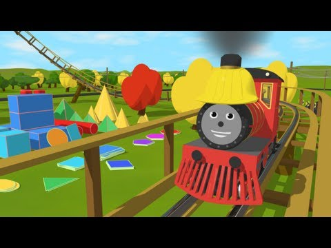 Learn about Shapes with Shawn's Roller Coaster Adventure! (Learn 15 2D and 3D shapes) - UCV1SycDpnU1A2dXqob6Aowg