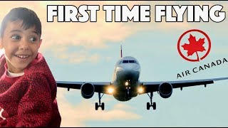 Mohsin's First Time On A Plane!! (REACTION)