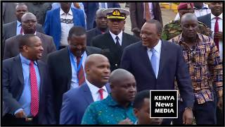 UHURU KENYATTA LAUNCHED COUNTDOWN TO 2019 KENYA CENSUS
