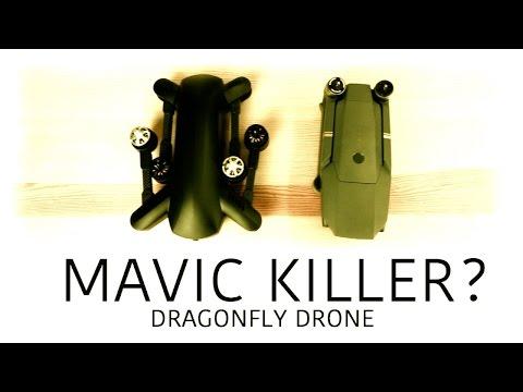 DJI MAVIC KILLER? - Dragonfly 4K Folding Drone - UCwojJxGQ0SNeVV09mKlnonA