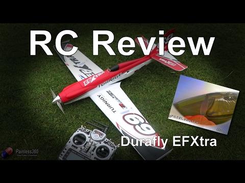 RC Reviews: Durafy EFXtra Acrobatic FPV Plane - UCp1vASX-fg959vRc1xowqpw