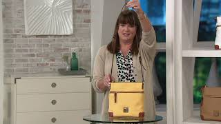 Dooney & Bourke Pebble Leather Crossbody on QVC