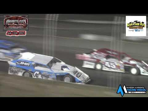 Granite City Motor Park WISSOTA Modified A-Main (Advantage RV Mod Tour) (7/11/21) - dirt track racing video image