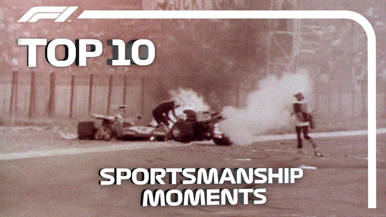 Top 10 Moments of Sportsmanship in Formula 1