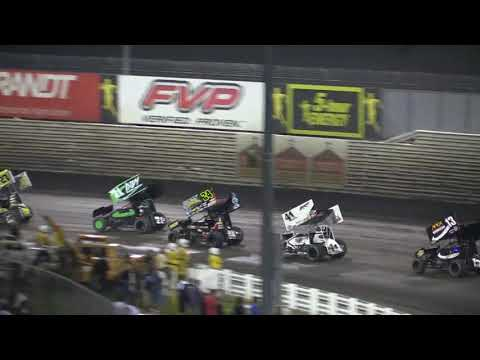 Dominic Scelzi 8-11-18 Main Event 410 Nationals Knoxville - dirt track racing video image