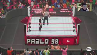 WWE NXT TAKEOVER - MODO UNIVERSO #44 -WWE 2K19 -  PS4 -Argentina