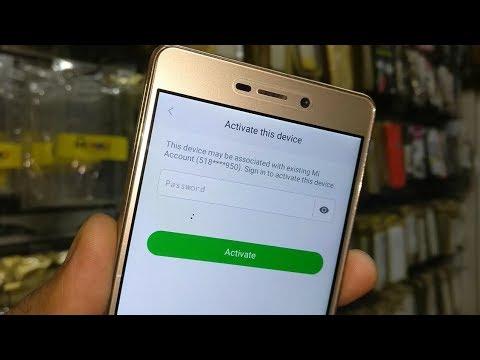 Redmi 6a Mi Account Remove Miracle Box