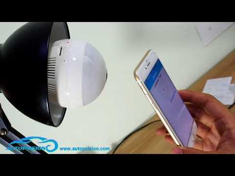 360° Fisheye Panoramic 960P Wifi LED Bulb Light Security Spy Camera - UC-534zQSdtSqCthIdbjHyWA