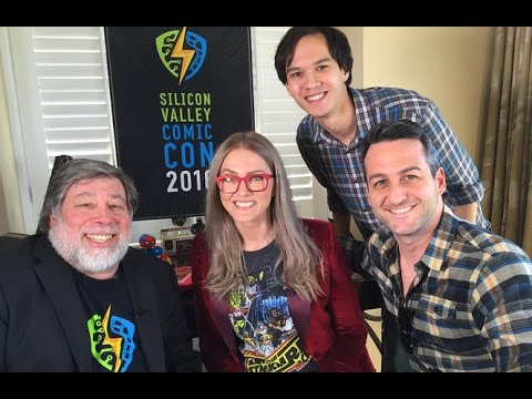 The wonderful wizard Woz talks about his comics and tech convention on Tomorrow Daily on - UCOmcA3f_RrH6b9NmcNa4tdg