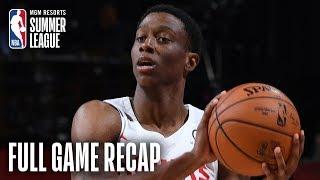 PACERS vs HAWKS | Jordan Sibert Scores Game-High 21 Points For ATL | MGM Resorts NBA Summer League