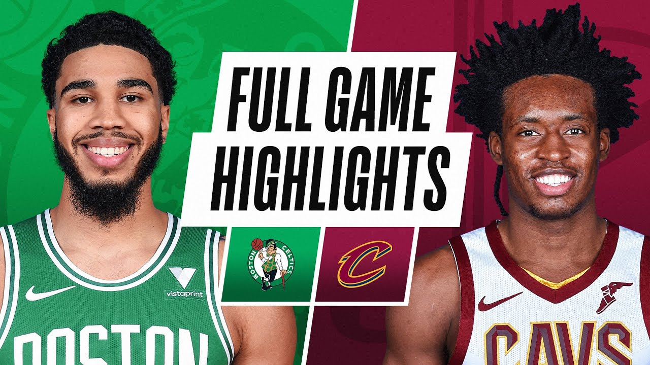 CELTICS at CAVALIERS | FULL GAME HIGHLIGHTS | March 17, 2021