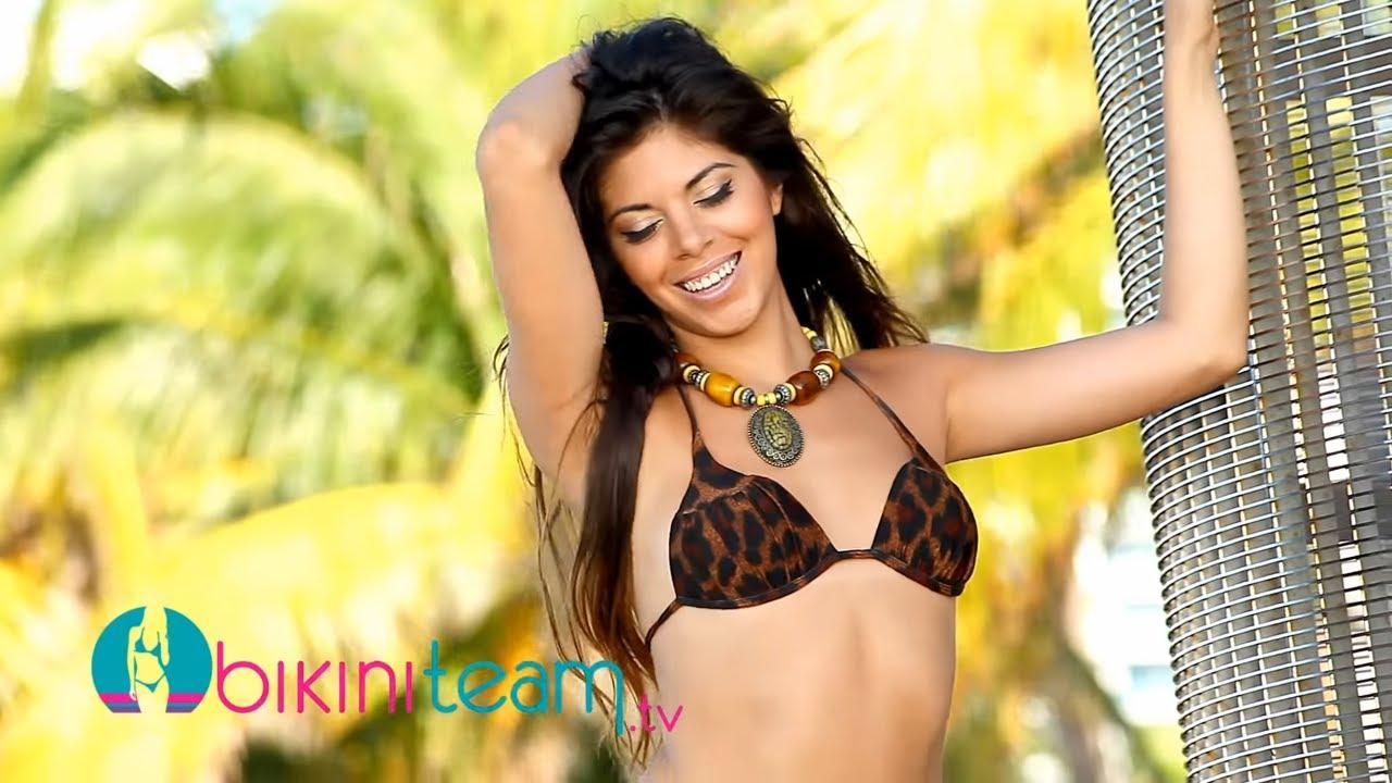 Sexy Latina Romina Quintana Video Shoot on Miami Beach by John Neyrot
