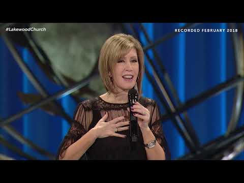 Conquering Fear and Discouragement  Pastor Lisa Osteen Comes
