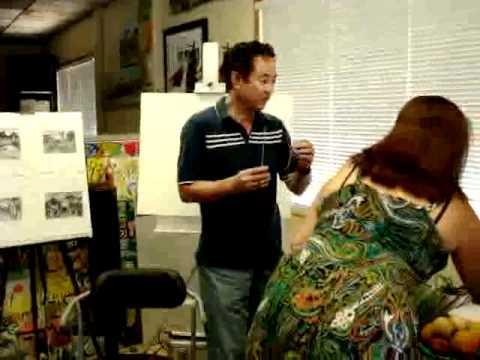 Cầu hồn cố họa sĩ Bùi Xuân Phái lên nói chuyện và vẽ tranh - phần 4