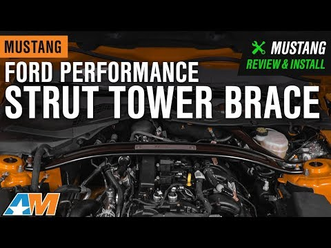 2015-2019 Mustang GT & EcoBoost Ford Performance Strut Tower Brace Review & Install - UC6oDFPwm-ePPMb8lmToCcnQ