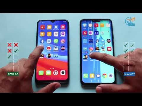 Oppo A7 Vs Huawei Y9 2019 - Comparison Speed Test