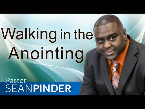 WALKING IN THE ANOINTING - JOIN PASTOR SEAN LIVE SUNDAY 5pm PST/6pm MST/7pm CST/8pm EST