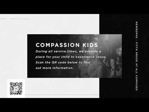 Compassion Live, Harrison Huxford, 9AM