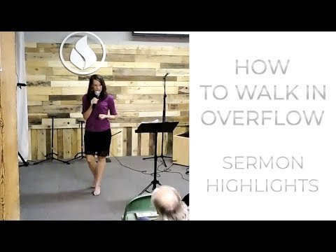 Prophetic Word for Now: Overflow