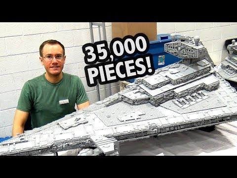 LEGO Star Wars UCS Millennium Falcon 10179 TIMELAPSE BUILD! | Racer lt