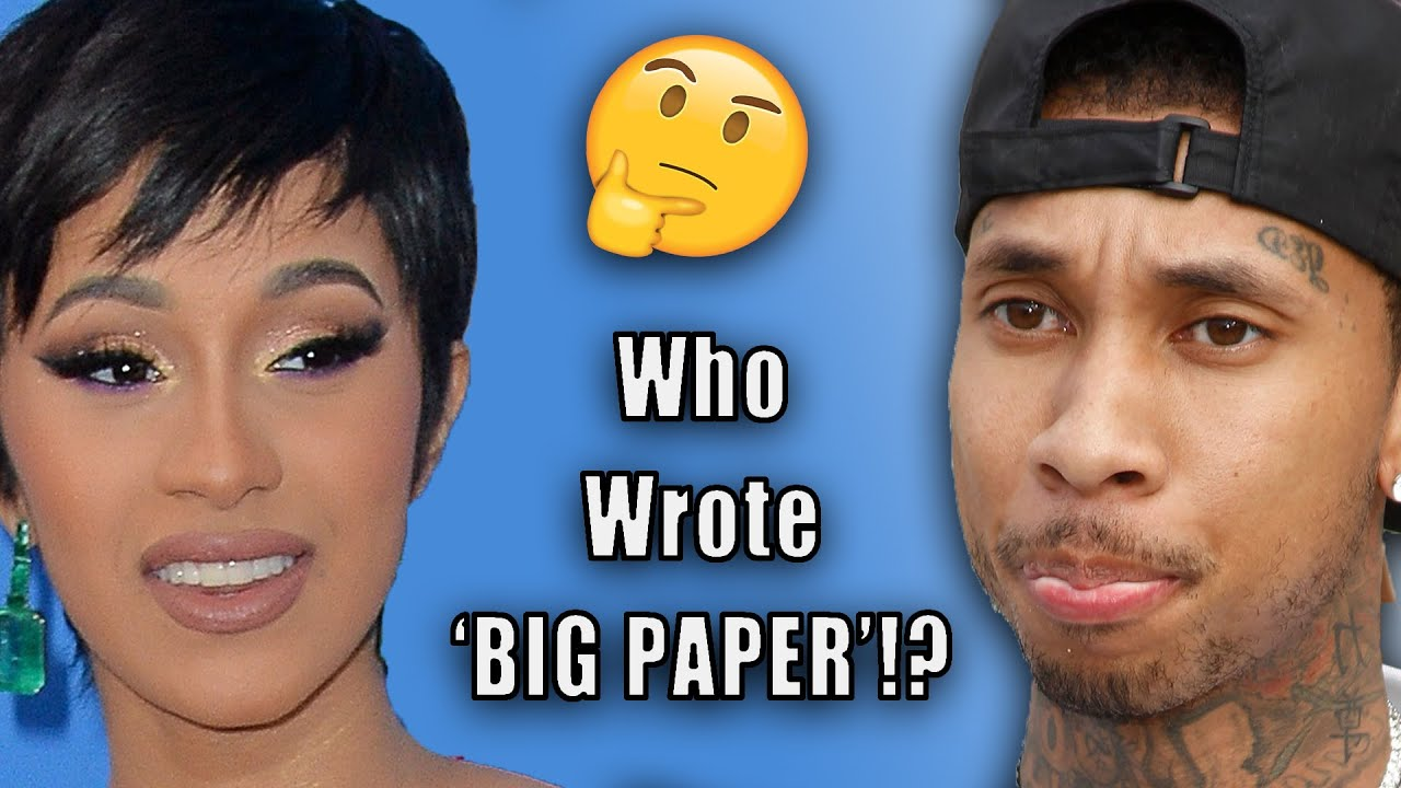 Cardi B 'Big Paper' Goes Viral After Ghostwriter Claims Resurface