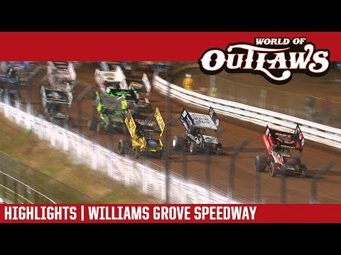 World of Outlaws Craftsman Sprint Cars Williams Grove Speedway May 19, 2017 | HIGHLIGHTS - dirt track racing video image