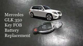 Sostituire pila chiave Mercedes GLK