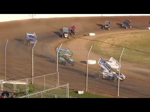Grays Harbor Raceway ASCS National Tour 360 Sprints Fred Brownfield Classic Night #1 June 19th, 2021 - dirt track racing video image