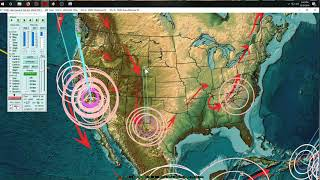 8/19/2019 -- California earthquake increase explained -- New unrest spreading across Pacific now