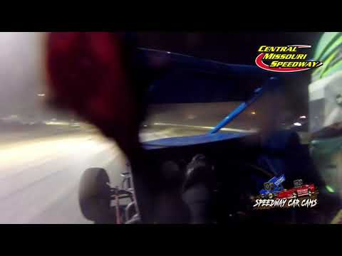 #44 Taylor Walton - Non-Winged Sprint Car - 6-19-2021 Central Missouri Speedway - In Car Camera - dirt track racing video image