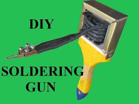 Homemade Soldering Gun - UCvUlVXwSFKzk963FbB9L9zg