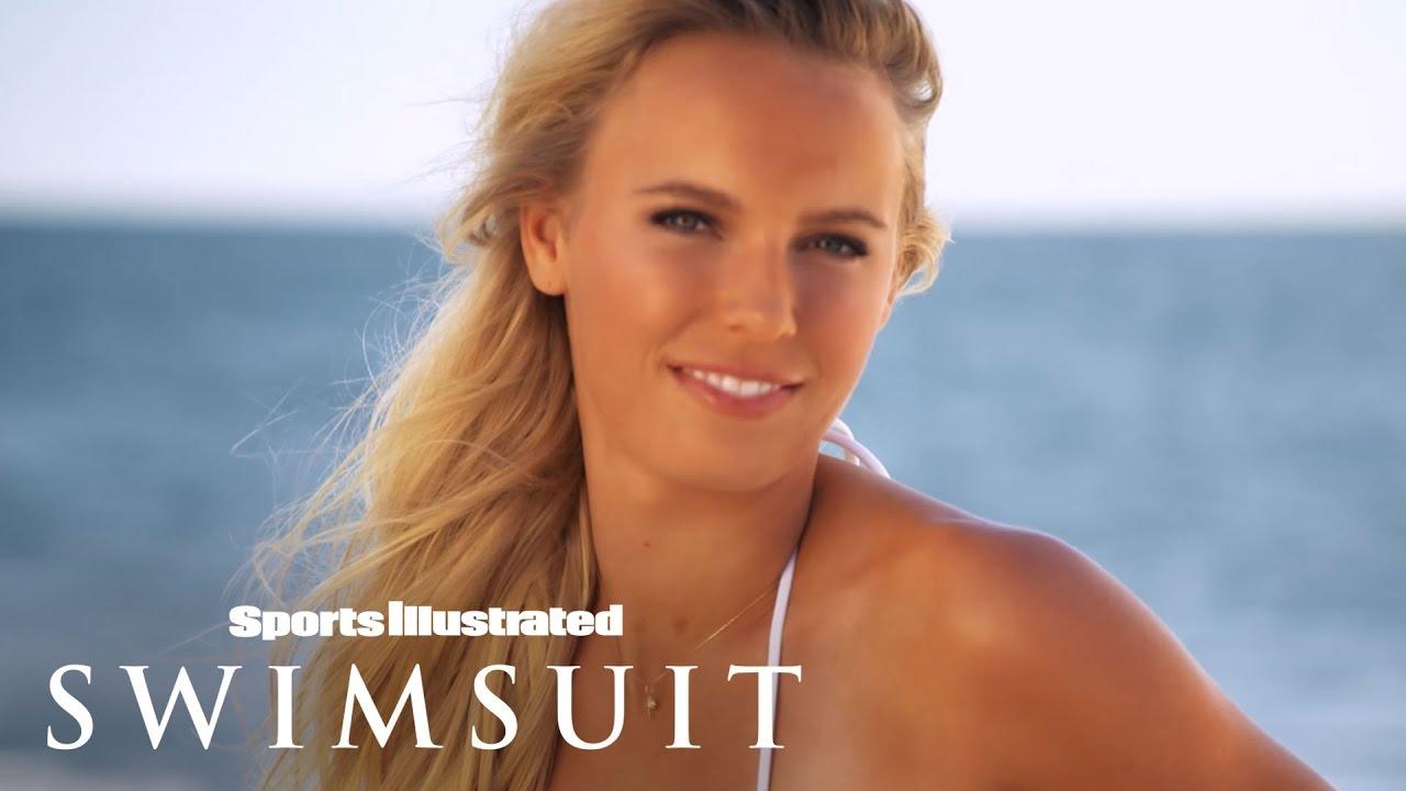 Caroline Wozniacki Uncovered 2015   Sports Illustrated Swimsuit