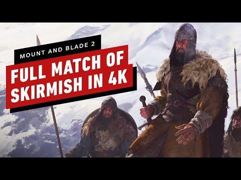 Mount and Blade 2: Bannerlord - A Full Match of Skirmish 4K 60 - UCKy1dAqELo0zrOtPkf0eTMw