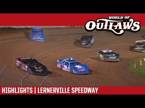 World of Outlaws Craftsman Late Model Series Firecracker 100 Feature Event Highlights from Lernerville Speedway in Sarver, Pennsylvania on June 23rd, 2018.  For more information and full results: www.woolms.com For extended race highlights: www.DirtonDirt.com - dirt track racing video image
