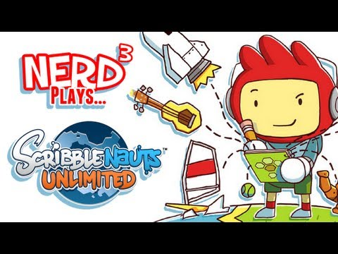 Scribblenauts Unlimited Item Creation (Off-Screen) - NYCC