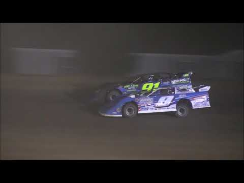 Super Late Model Feature from Atomic Speedway, September 29th, 2018. - dirt track racing video image