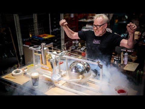 Adam Savage Builds a Hero's Engine Sweet Cream Pourer! - UCiDJtJKMICpb9B1qf7qjEOA