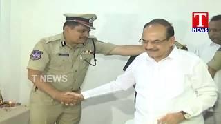 Minister Mahmood Ali Inaugurate New Police Station in Medipally | T News Telugu